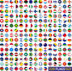 World Flags Vector Free Vector Cdr