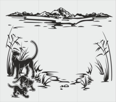 Drawings for sandblasting Free Vector Cdr