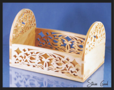 Carved Box Laser Cut Free Vector Cdr