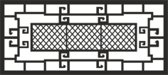 Window Grill Vector Free Vector Cdr