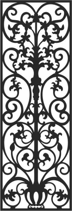 Vectorized fretwork pattern Free Vector Cdr