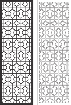 Decorative Grille Free Vector Cdr