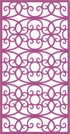 Laser Cut Vector Panel Seamless 296 Free Vector Cdr