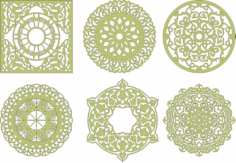 Decorative Mandala Vector Art Free Vector Cdr