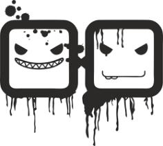 2×2 Vector logo Free Vector Cdr