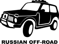 Russian Off Road Sticker Free Vector Cdr