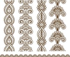 Henna Mehndi Vector Art Free Vector Cdr