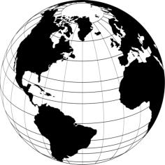 World Globe Vector Free Vector Cdr