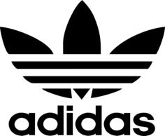 Adidas Logo cdr Free Vector Cdr