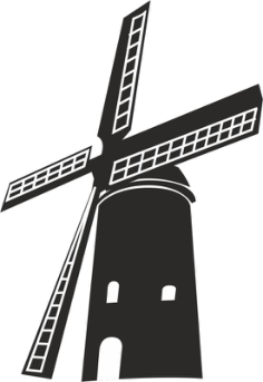 Windmill Free Vector Cdr