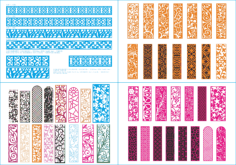 Laser Cut Pattern Collection Free Vector Cdr