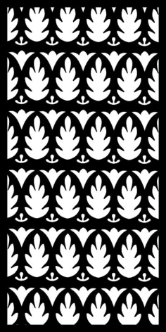 Black And White Flower Pattern Design Free Vector Cdr