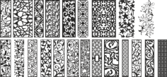Modern Separators Panels Collection Free Vector Cdr