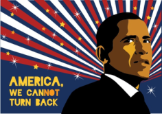 Obama Poster Free Vector Cdr