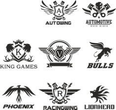 Technical Logo Collection Vectors Free Vector Cdr