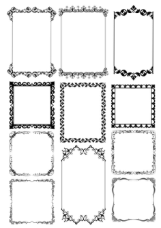 Frame Borders Free Vector Cdr