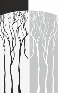 Abstract Old Tree Sandblast Pattern Free Vector Cdr