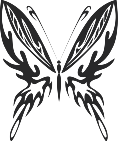 Butterfly Vector Art 023 Free Vector Cdr