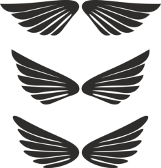 Free Wing Vector Free Vector Cdr