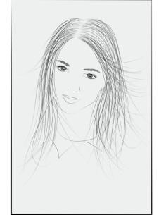 Girl Face Vector Art Free Vector Cdr