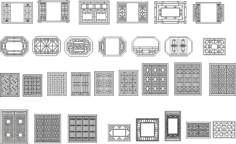 Chinese window patterns Vectors Free Vector Cdr