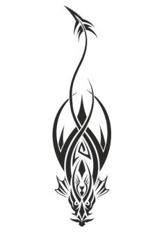 Dragon Tattoo Design Vector Free Vector Cdr