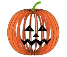 Halloween Lamp 2 Free Vector Cdr