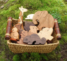 Wood Toys Free Vector Cdr