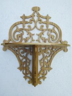 Decorative Shelf Laser Cut Free Vector Cdr