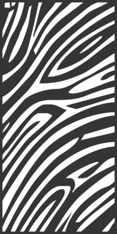 Seamless Zebra Skin Pattern Free Vector Cdr