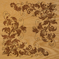 Ornament Pattern Free Vector Cdr
