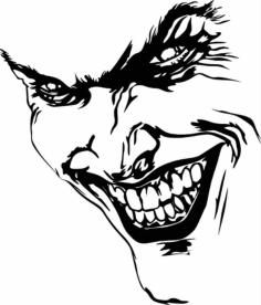 Joker Sticker Free Vector Cdr