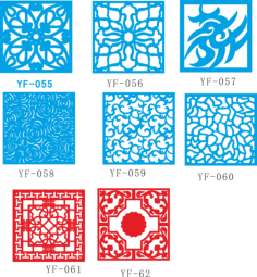 Vectors for decorative panels Free Vector Cdr