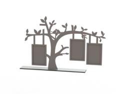 Tree Frame Laser Cut Free Vector Cdr