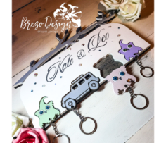 Personalized Key Holder Free Vector Cdr