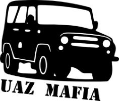 UAZ Mafia Sticker Vector Free Vector Cdr