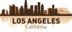 Los Angeles City Skyline Silhouettes Vector Set Free Vector Cdr