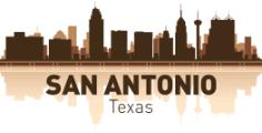 San Antonio Skyline Free Vector Cdr