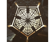 Dodecahedron Lamp 6mm Free Vector Cdr