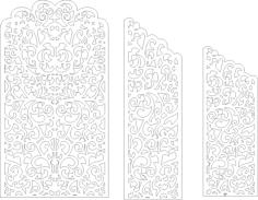 Wedding Screen Panel Free Vector Cdr