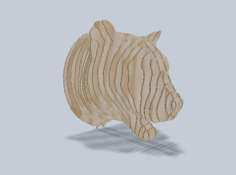 Leopard 3D Puzzle Free Vector Cdr