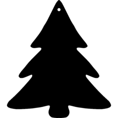 christmas tree Free Dxf for CNC