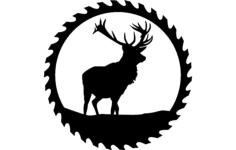 circular sawblade  1 Free Dxf for CNC