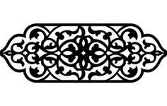 grille design 7 Free Dxf for CNC