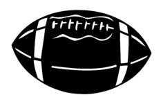 football 2 Free Dxf for CNC
