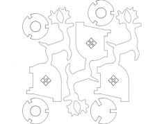 tarea de escuela Free Dxf for CNC