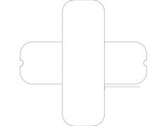 blade balancer Free Dxf for CNC