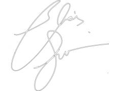 elias signature Free Dxf for CNC