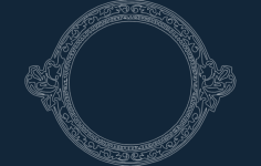 cool circle frame Free Dxf for CNC