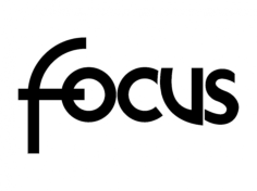focus logo Free Dxf for CNC